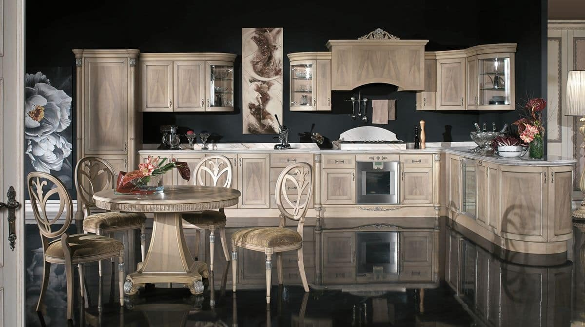 Choose a classic design for your brand new kitchen for Brand new kitchen designs