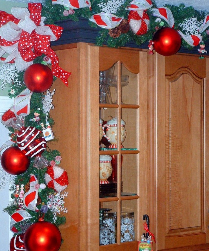 Christmas kitchen decor ideas for Christmas decorating ideas for your kitchen