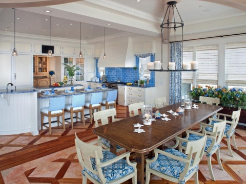 Coastal Kitchen Design Tricks Picture