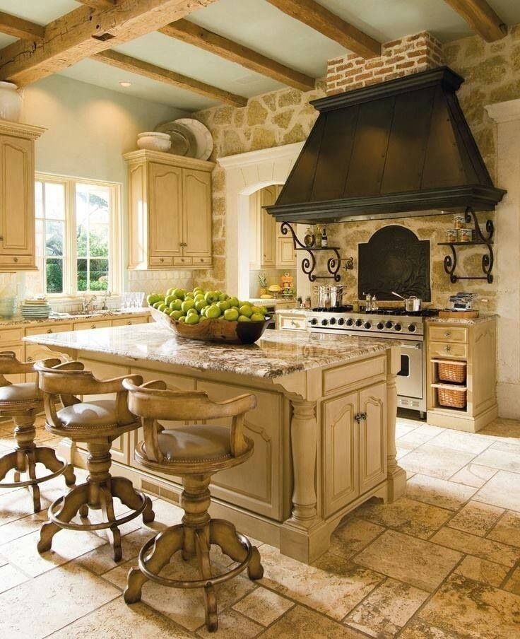 How To Achieve A Country Farmhouse Kitchen Decor - Achieve french country style