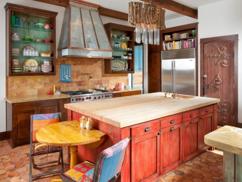 Italian Themed Kitchen Designs Picture