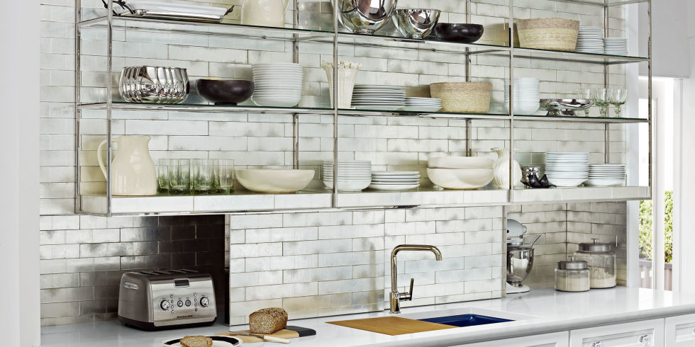 The Benefits Of Open Shelving In The Kitchen: Open Shelving In The Kitchen