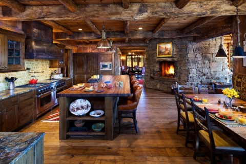 How to Achieve a Country Farmhouse Kitchen Decor Picture